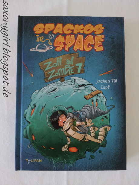 Buch Spackos in Space