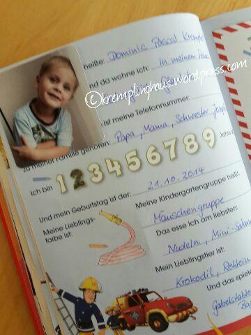 Kindergartenfreundebuch Inhalt