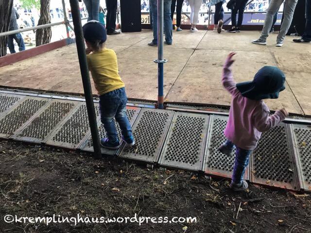 Inselregatta die Kinder haben Spaß