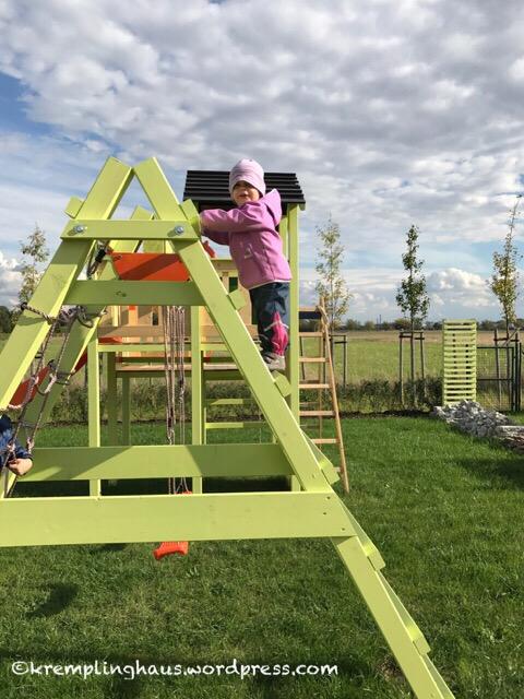 Spielen im Garten #Klettergerüst