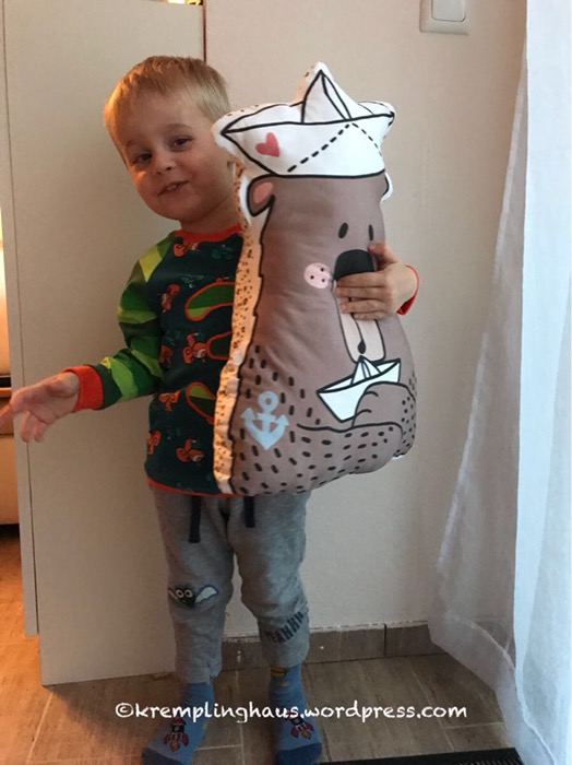 Geburtstagsshirt, Kuschelbär