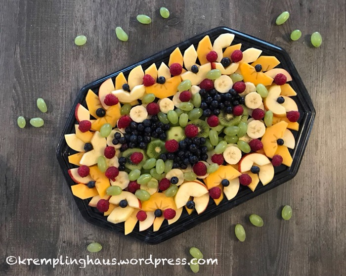 Obst, Obstteller, Obstmandala