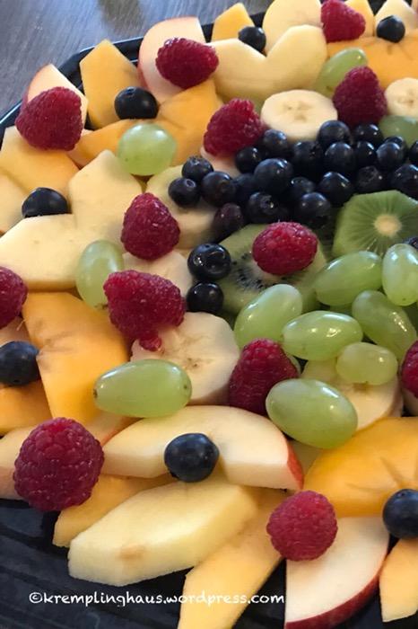 Obst, Obstteller, Obstpause