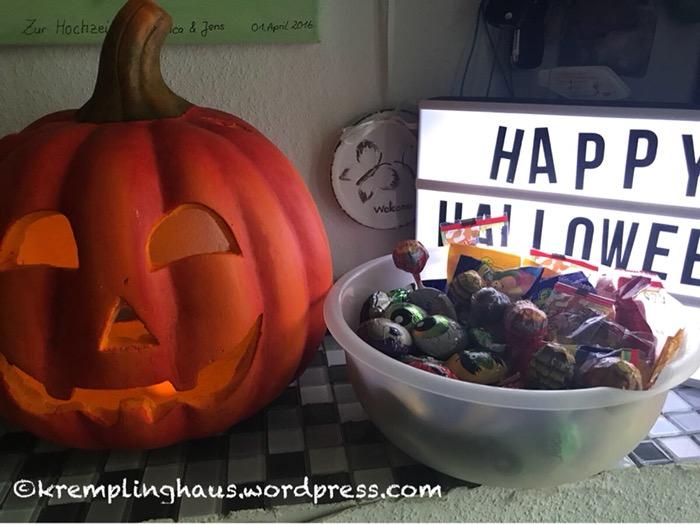 Kürbis, Halloween, Süßigkeiten