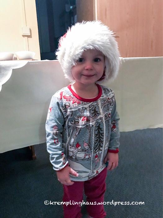 Weihnachtsshirt, Nähzimmer, Nähen für Kinder