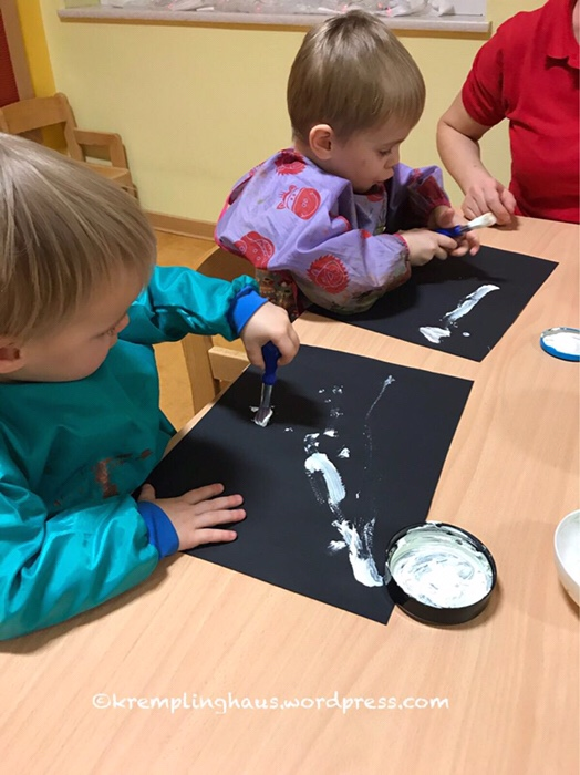 Kindergarten, Wellness, Malen