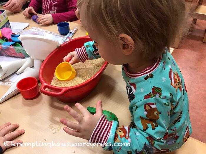 Kindergarten, Wellness, Basteln, Knautschsack