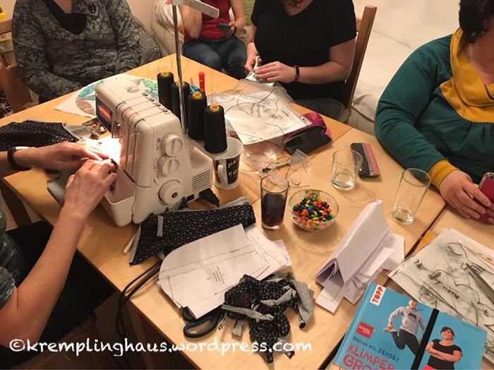 Bloggertreffen, nähen