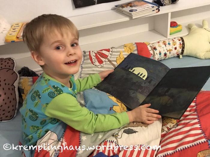 Kinderbuch über den Mond