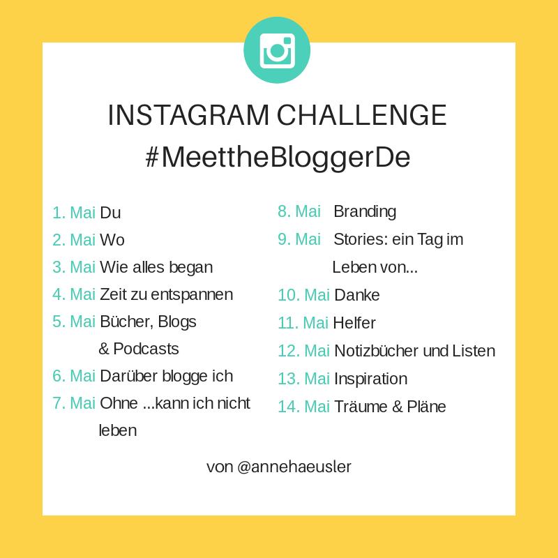 #MeettheBloggerDE, MeettheBloggerDe, Anne Häusler