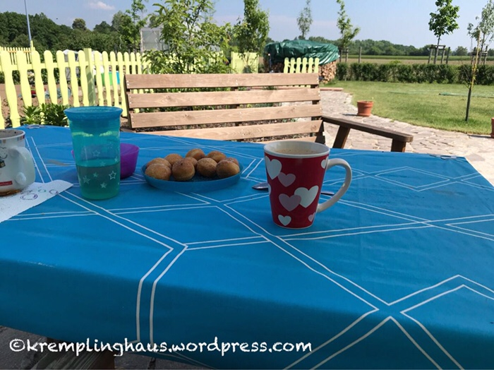 Garten, Kaffee und Kuchen, Kremplinghaus