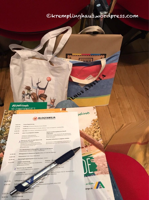 Blogfamilia, Programm, Goodie-Bag