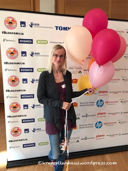 Blogfamilia, Luftballons, Sponsorenwand