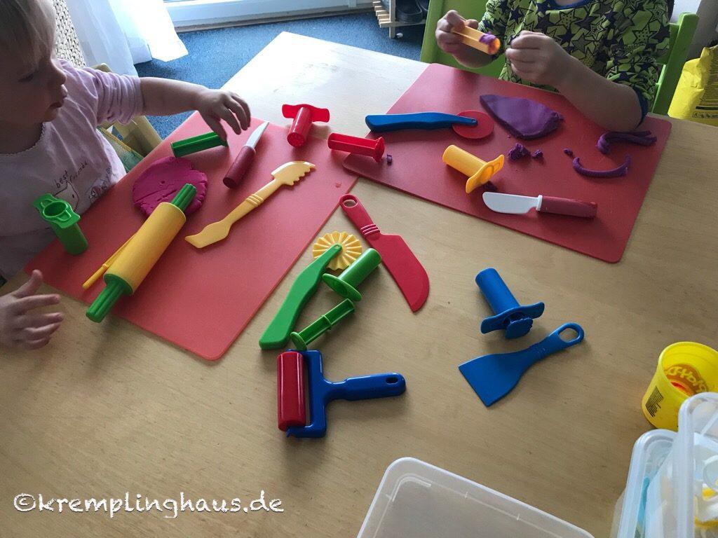 Kinder kneten
