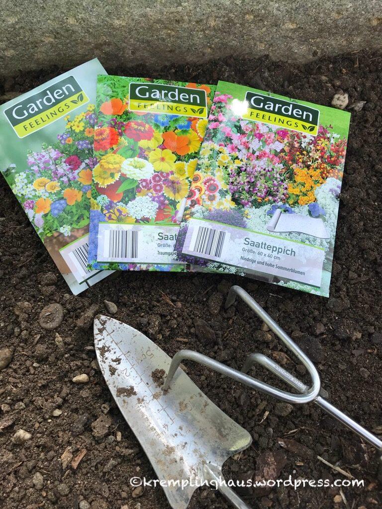 Samentüten für Blumen
