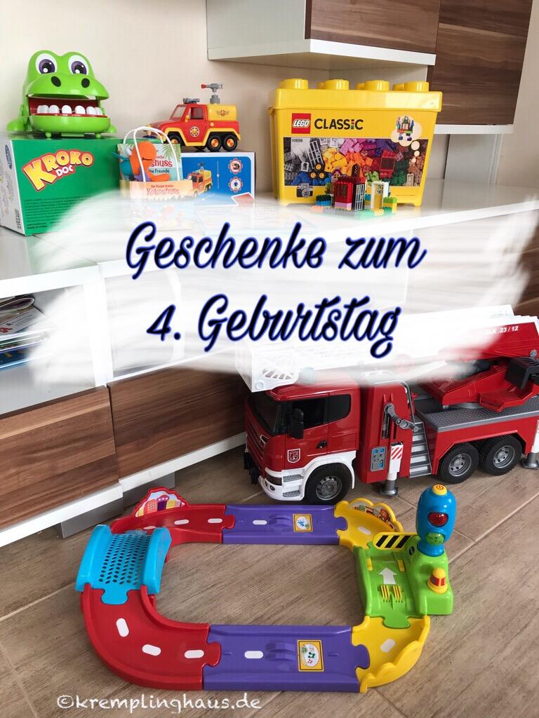 Unsere Geschenkideen Zum 4 Geburtstag Unseres Sohnes Kremplinghaus