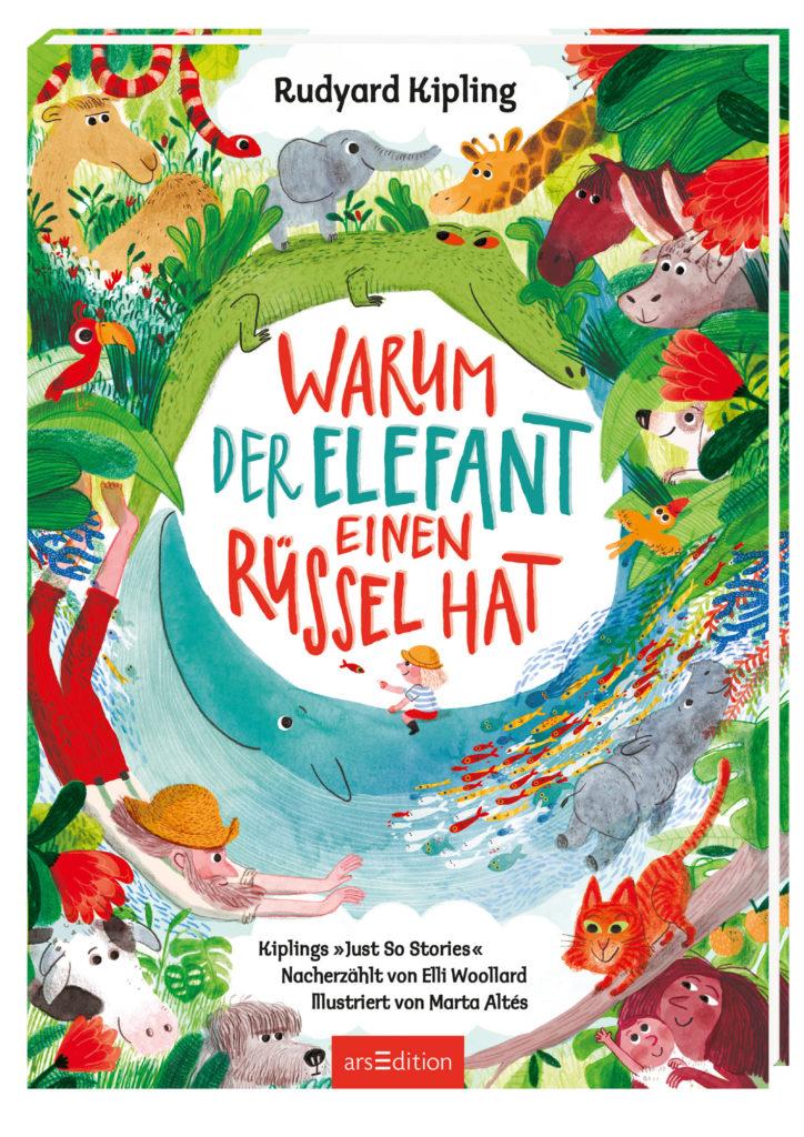 Buchcover Warum der Elefant einen Rüssel hat