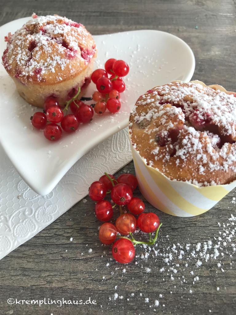 Fruchtig-saftige Beeren-Muffins
