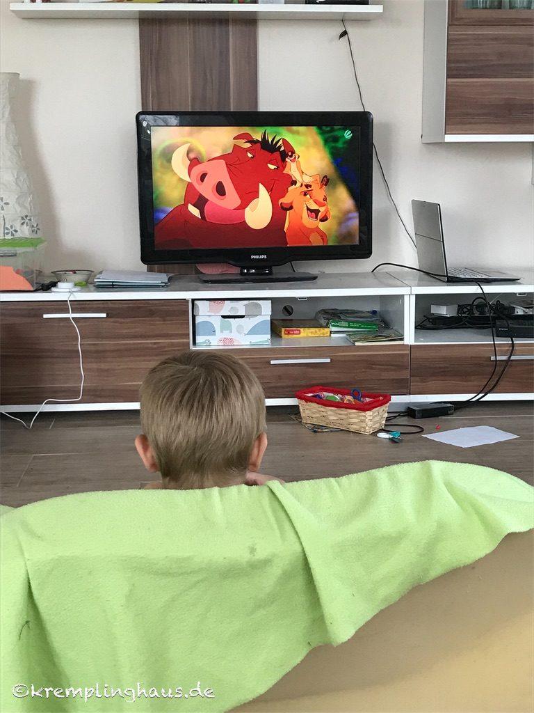 Köniig der Löwen Film im Fernsehen