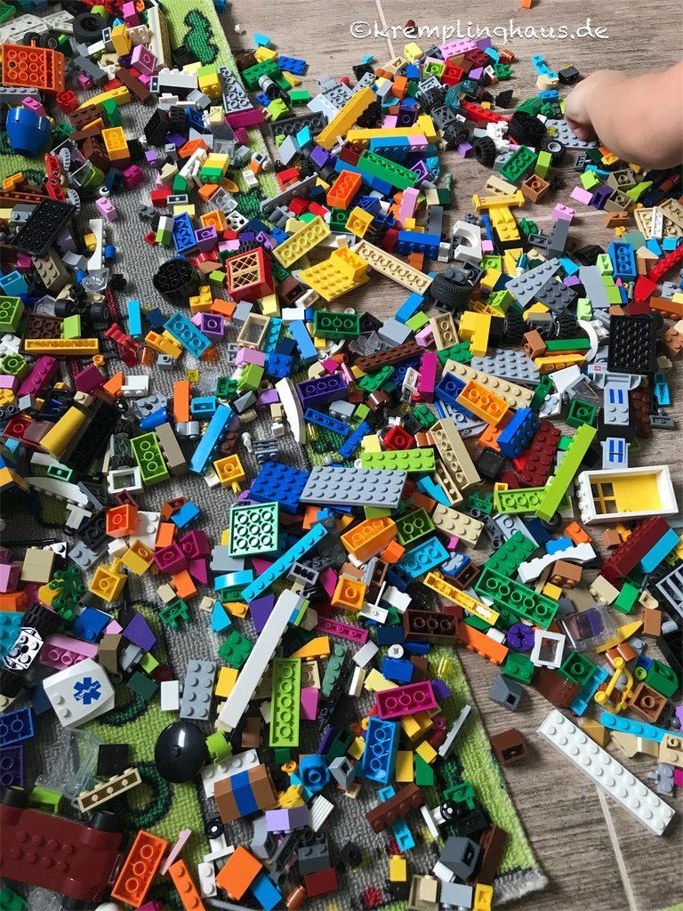 Lego unsortiert