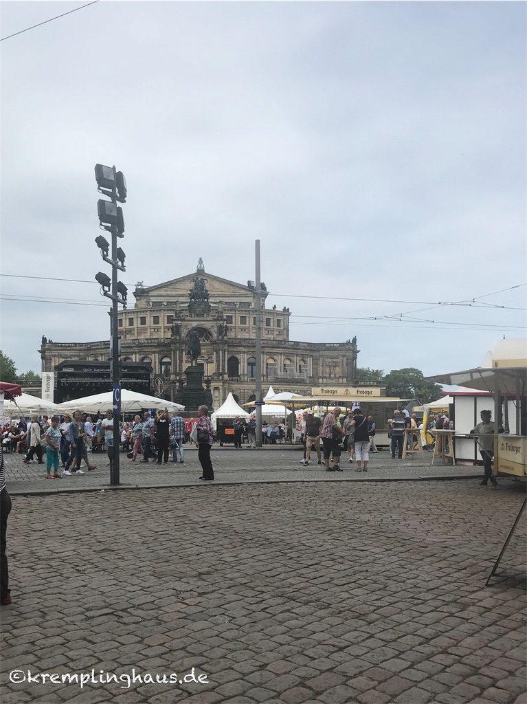 Semperoper Dresden Stadtfest Dresden 2019