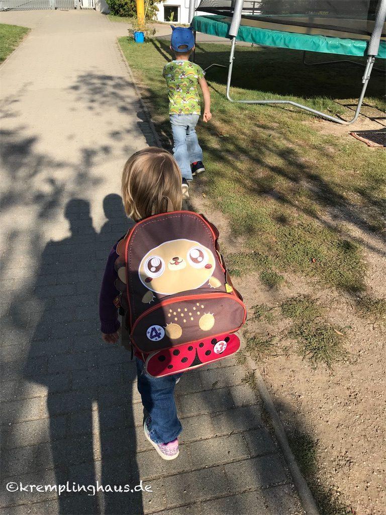 Kinder aus dem Kindergarten abholen