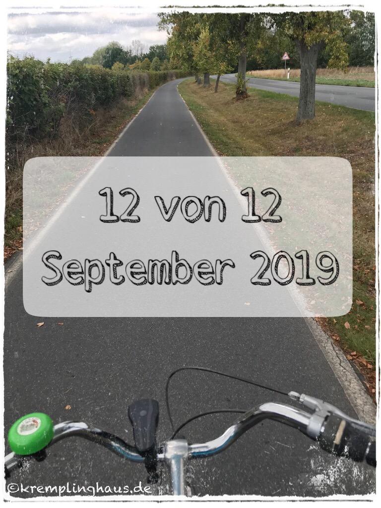 12 von 12 September 2019