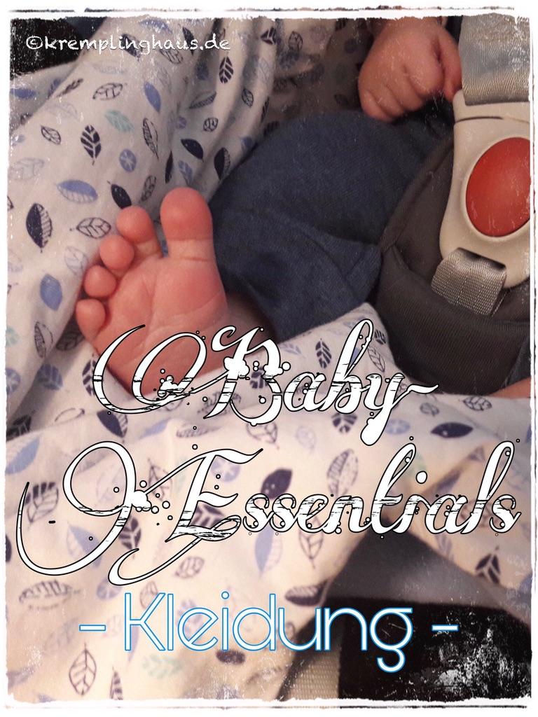 Baby-Essentials Kleidung