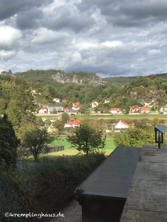 Ausblick auf Elbe