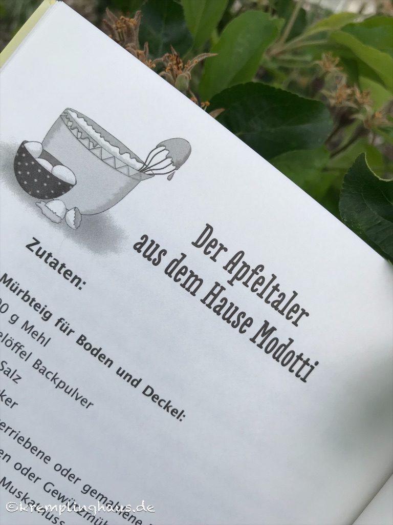 Blick ins Buch Das Apfelkuchen-Geheimnis