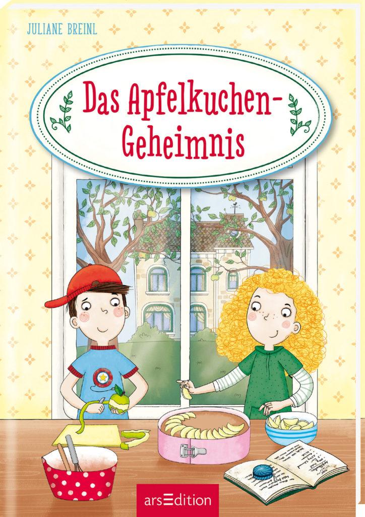 Buchcover Das Apfelkuchen-Geheimnis