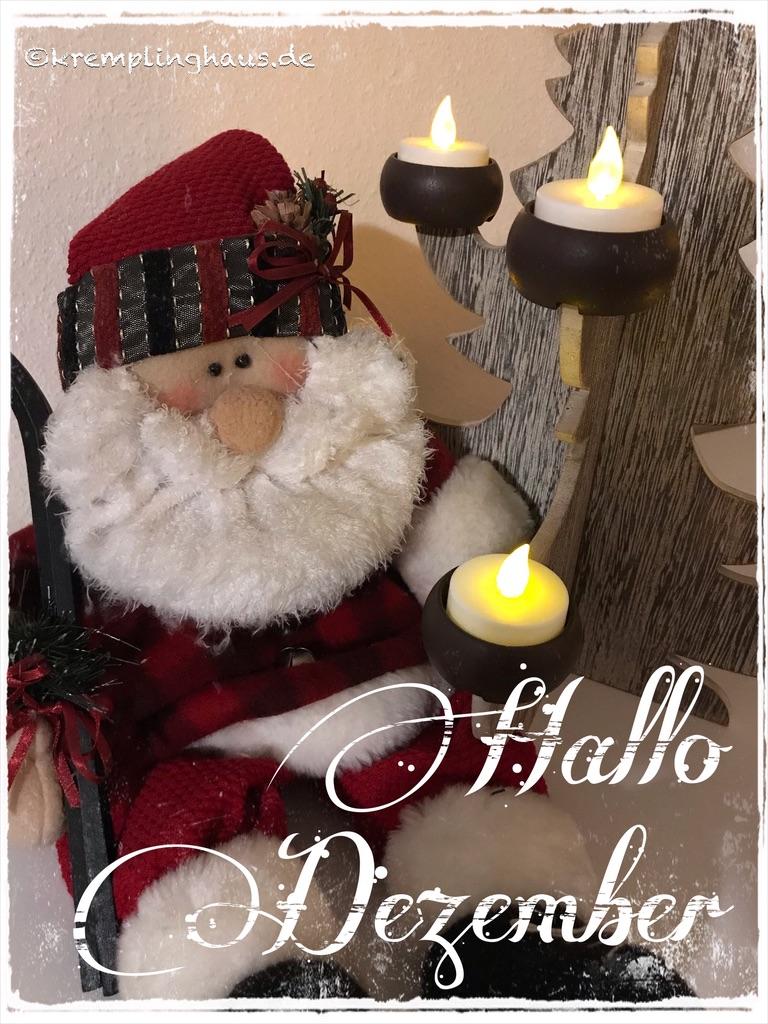 Hallo Dezember 2019
