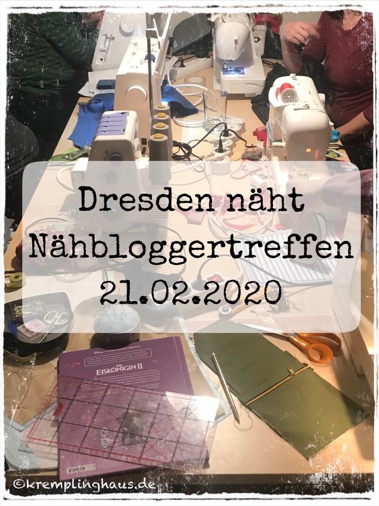 Dresden näht Nähbloggertreffen Februar 2020
