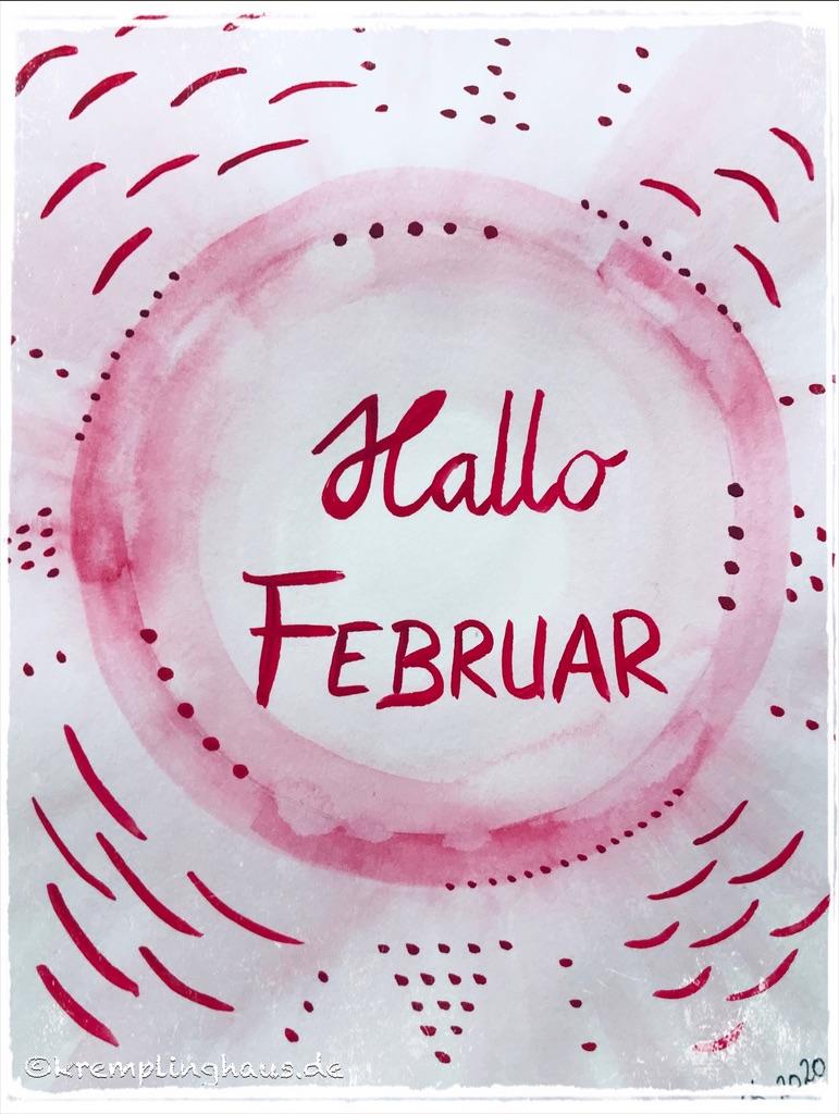 Hallo Februar