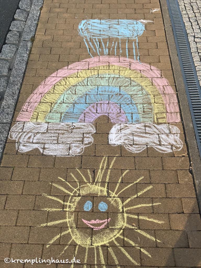 Wolke Regenbogen Sonne