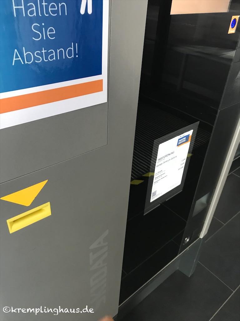 12 von 12 August 2020 Parkautomat