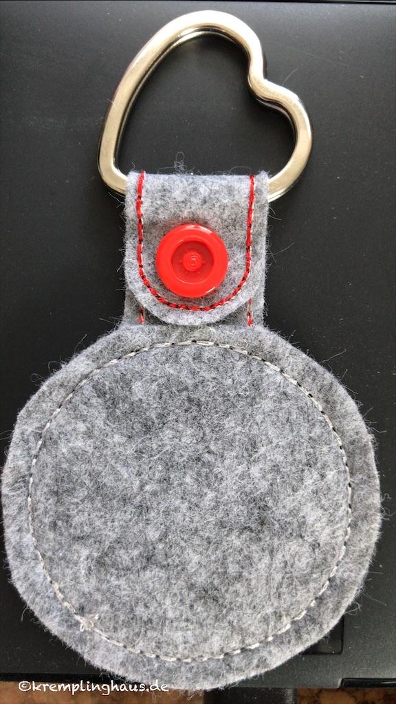Schlüsselanhänger Rückseite