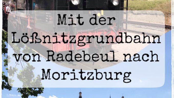 Lößnitzgundbahn und Schloss Moritzburg