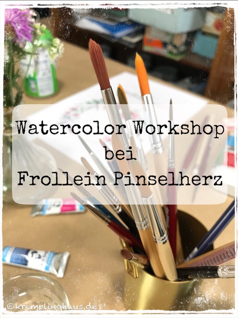 Watercolor Workshop Frollein Pinselherz