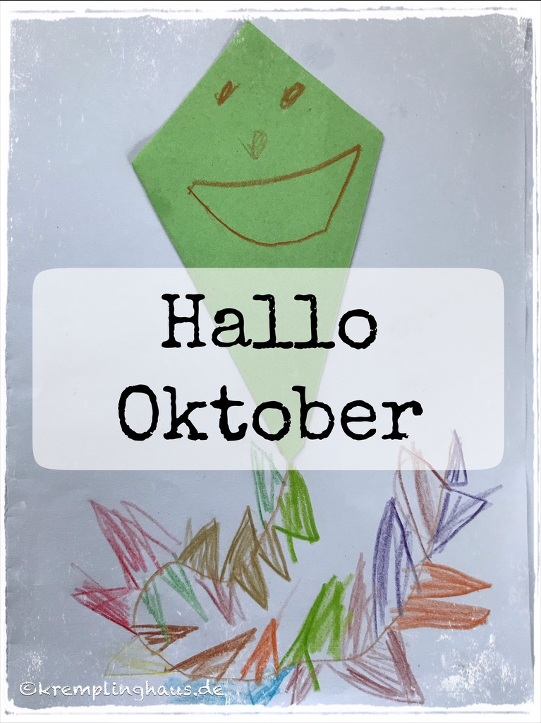 Hallo Oktober Drache