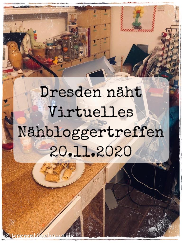 Dresden näht Virtuelles Nähbloggertreffen November 2020