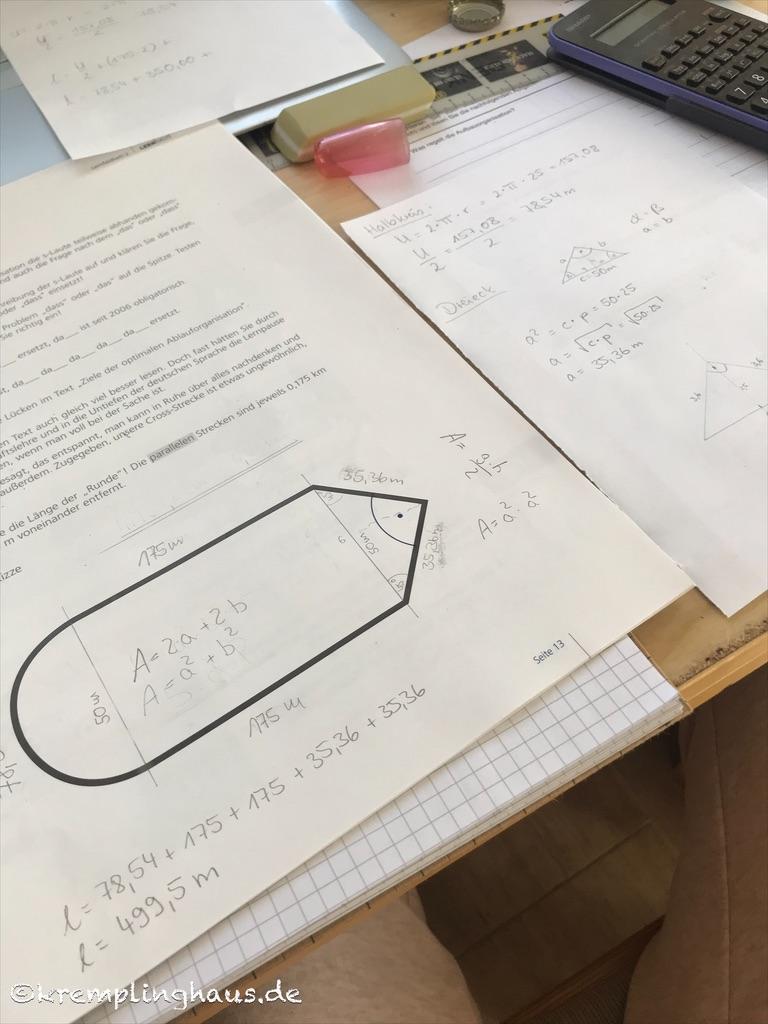 12von12 Homeschooling Mathe