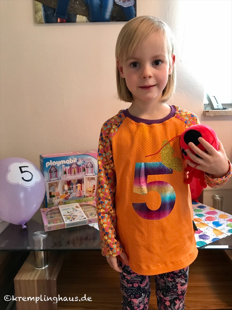 Geburtstagskind 5. Geburtstag