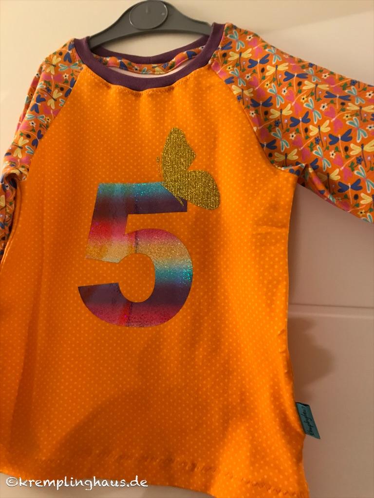 Geburtstagsshirt 5. Geburtstag