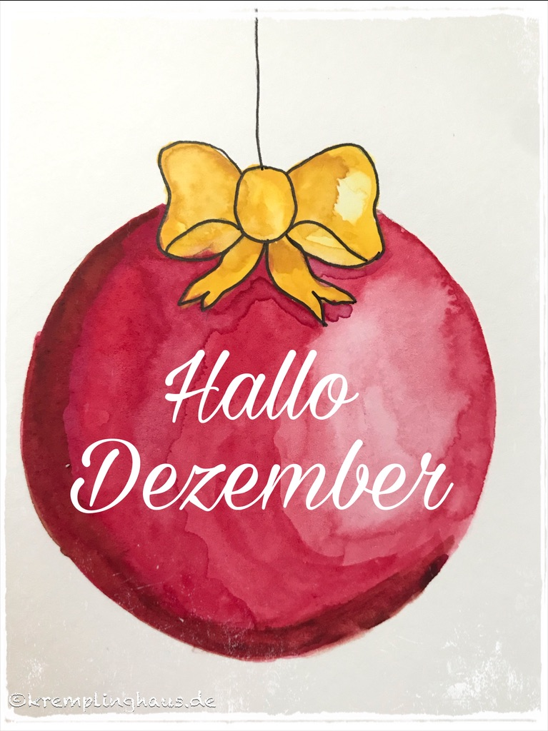 Hallo Dezember