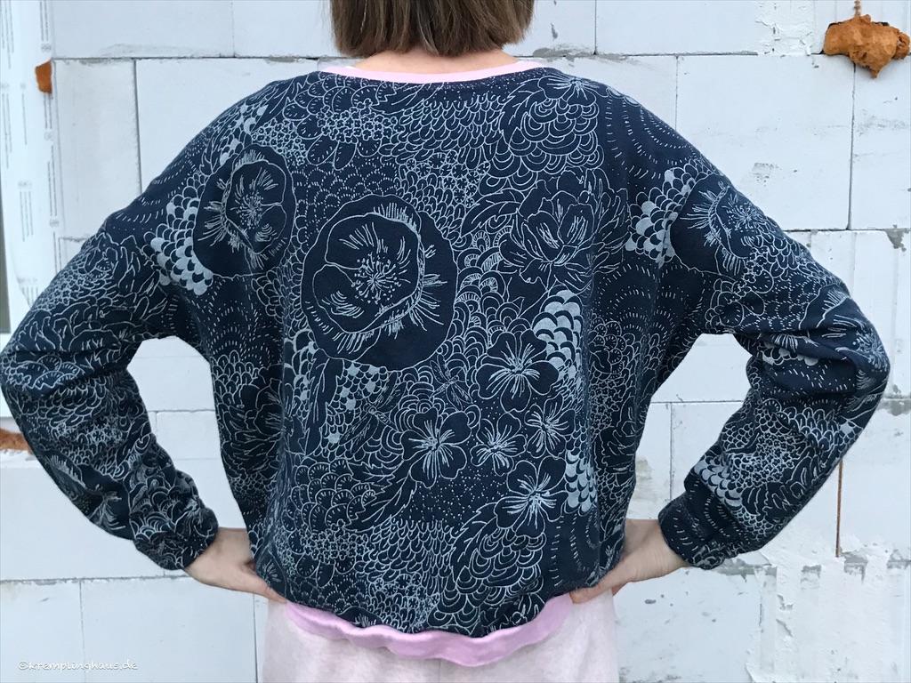 Sweatshirt Makea Rückenansicht
