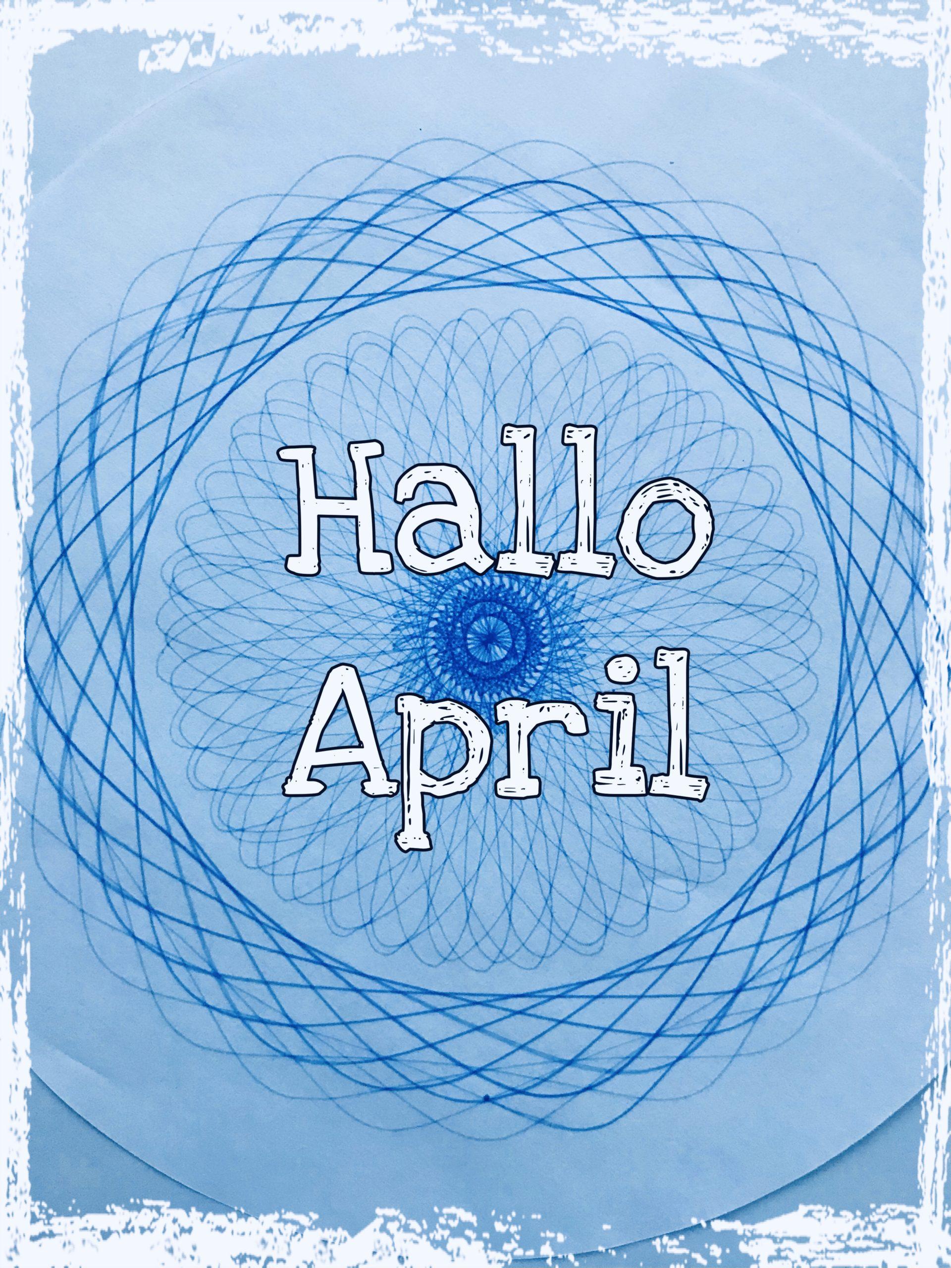 Hallo April 2021