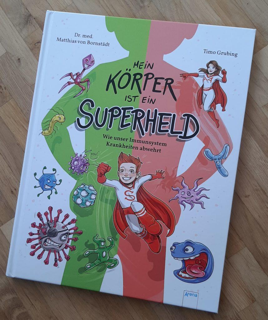 Buchcover Mein Körper ist ein Superheld