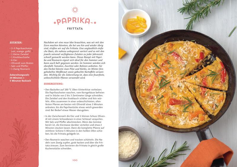 Rezept Frittata aus Buch Ye Olde Kitchen – Kochen, gärtnern, nachhaltig leben