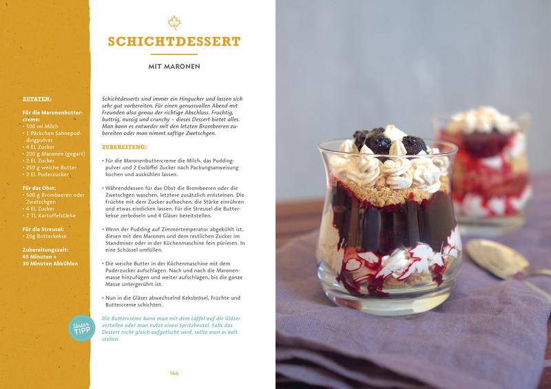 Rezept Schichtdessert aus Buch Ye Olde Kitchen – Kochen, gärtnern, nachhaltig leben